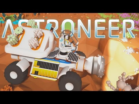 Get Astroneer - Ep. 4 - Research and Epic Mining Truck! - Let's Play Astroneer Gameplay Pre-Alpha Pictures