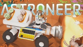 Astroneer - Ep. 4 - Research and Epic Mining Truck! - Let's Play Astroneer Gameplay Pre-Alpha thumbnail