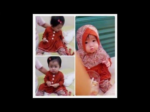 Baju Muslim Bayi Usia Tahun Gamis Bayi