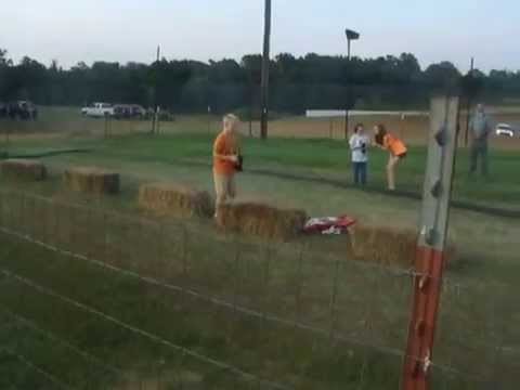 RC CARS AT WEST SILOAM SPEEDWAY JULY 18, 2014