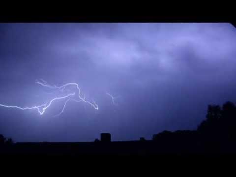 Blitz In Zeitlupe