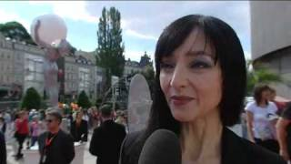 Maria De Medeiros Interview Karlovy Vary