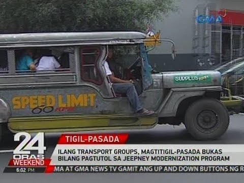 Ilang transport groups, magtitigil-pasada bukas bilang pagtutol sa jeepney modernization program
