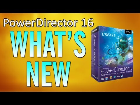 CyberLink PowerDirector 16 Live Review & Tutorial - What's New?