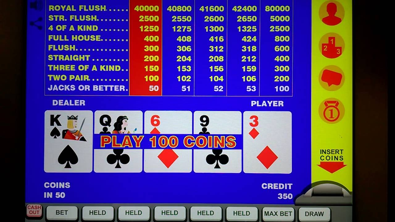 Video poker double up strategy windows games poker free download