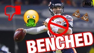What's The REAL Reason Mitch Trubisky Was Benched???