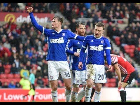Sunderland 0-2 Ipswich Town - 2017/18 - BBC Radio Suffolk Highlights