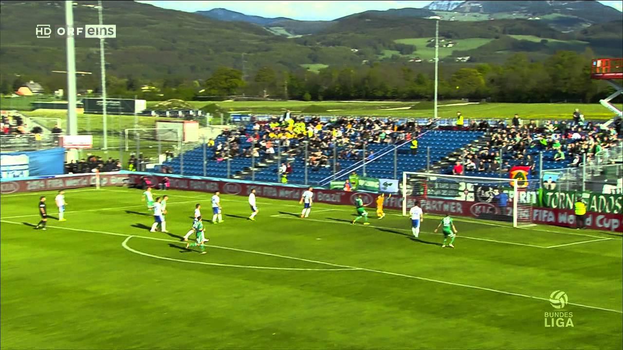 20 04 2014 Fussballbundesliga Sv Grodig Rapid Wien 720p Kurzbericht 720p Hdtv Youtube