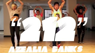 212 azealia banks choreography by derek mitchell at broadway dance center