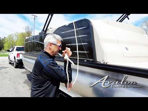 16)Prepping to Trailer Home  | 2017 Avalon Luxury Pontoons