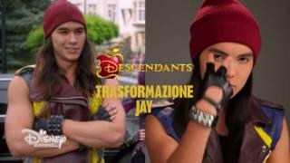 Descendants - Make Up Tutorial Halloween - Trasformazione Jay