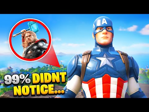 15 Things You NEVER Noticed In Fortnite