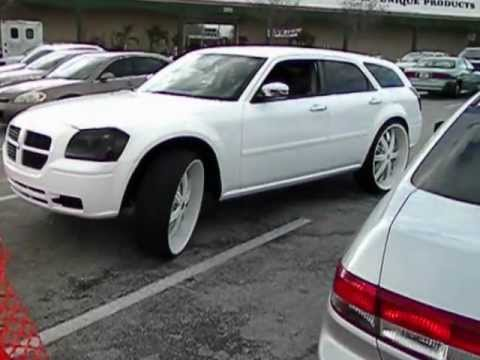 Dodge Magnum White On White 30 S Youtube