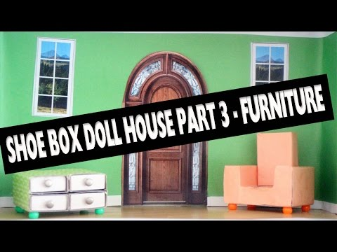 how to make a doll house video