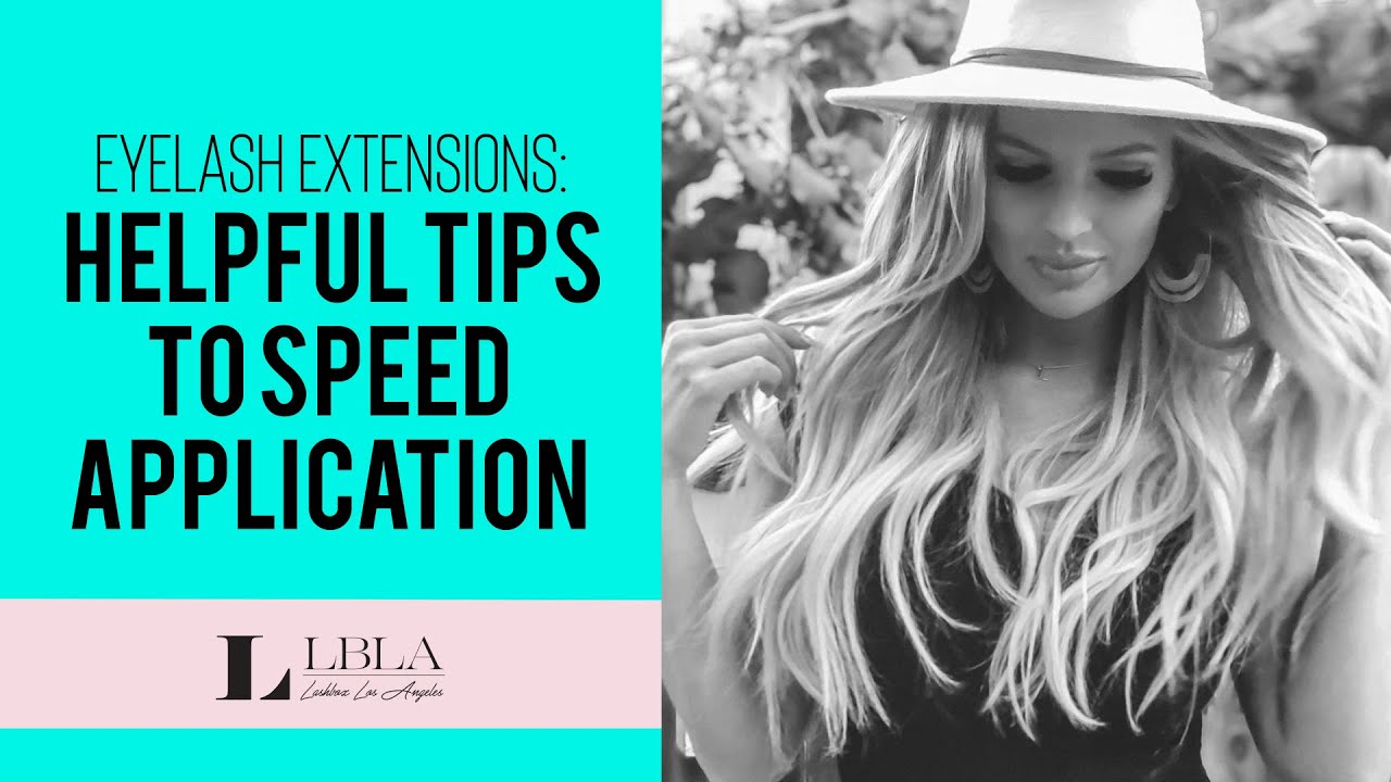 Helpful tips to speed up your eyelash extension application - Mega Volume  Lashes