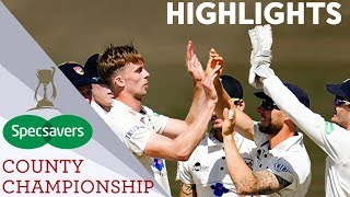 Gloucestershire And Northamptonshire Promoted! | Division 2 Specsavers County Championship Round-Up