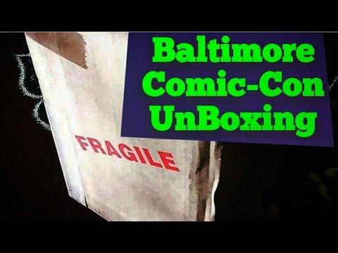 CarolinaChris26 Finally Baltimore Comic-Con CGC UnBoxing 2019