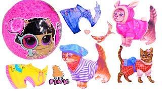 DRESS UP PET! Одевалки Питомца ЛОЛ! LOL Surprise Pet Care Play! Игры для Девочек с Май Тойс Пинк