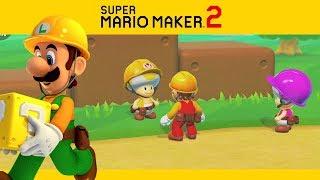 SUPER MARIO MAKER 2 | Campanha #5 - Trabalhos no Mercado Paralelo!
