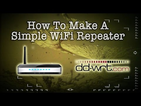 How To Make A Simple Wireless Repeater