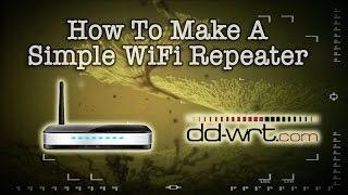 Basit Bir Kablosuz Tekrarlayıcı Nasıl