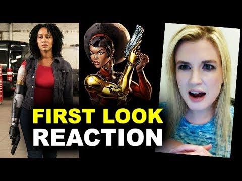 Misty Knight Bionic Arm First Look REACTION - Luke Cage Season 2