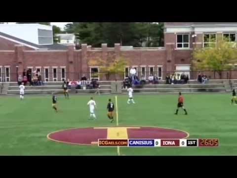 CB Jordan Scarlett #30, Iona College Men's Soccer Team out of New Rochelle.