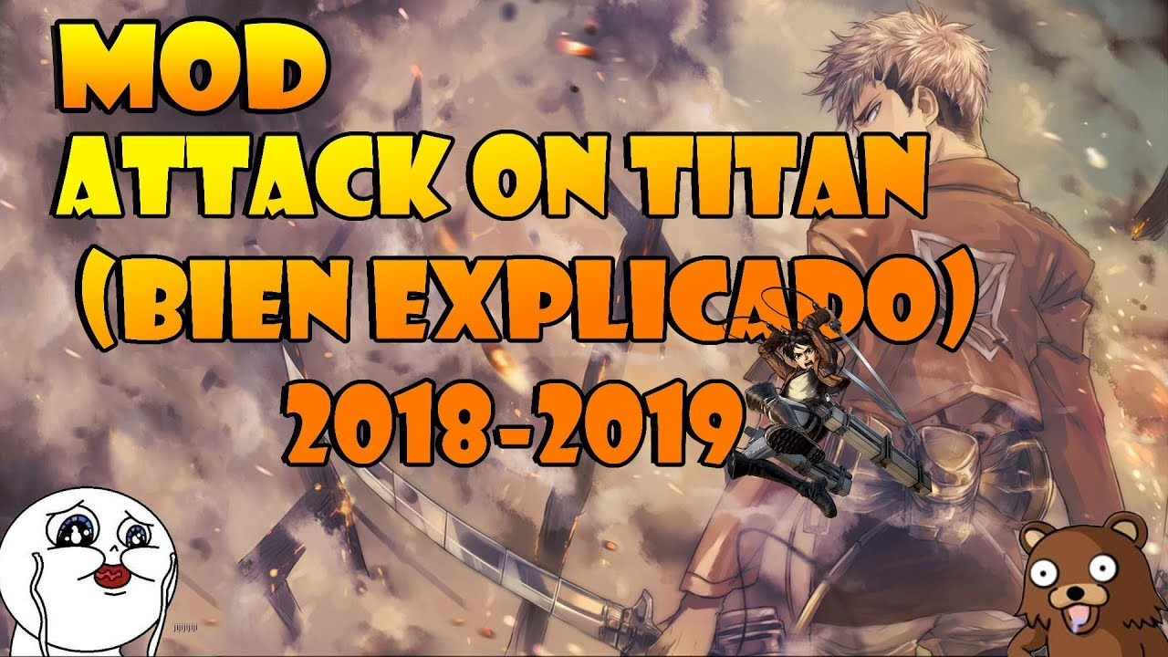 Attack on Titan Tribute Game RC Mod. What is it?  This is a public mod for the Attack on Titan Tribute Game by Feng Lee. What does it do? This mod is mainly known for customized skins, map editing, higher level and spawn control, and alternative game modes.