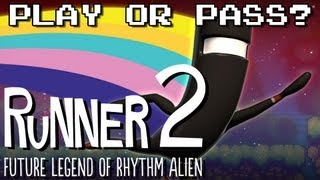 Play or Pass? - Runner 2: Future Legend of Rhythm Alien - PC/Mac/Wii-U/PSN/XBLA (Review/Gameplay)