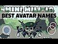 Doodle Army 2 : Mini Militia Best Avatar Names | Mini Militia Best Avatar
