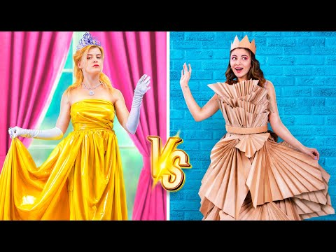 Богатая принцесса vs Бедная принцесса