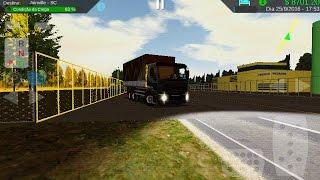 heavy truck simulator: verdureiro carga de melancia