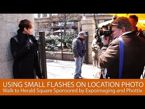 Using Small Flashes on Location Part 1