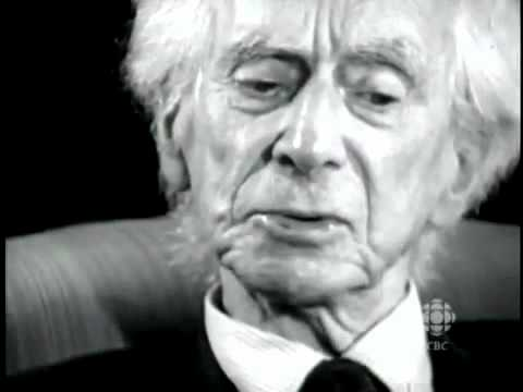 Bertrand Russell on God 1959