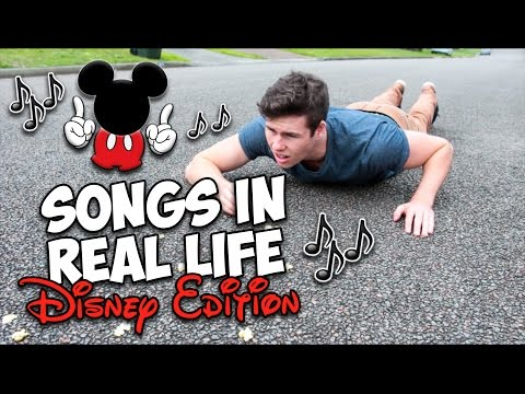 Songs In Real Life!! (Disney Edition)