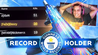 TRIOS WORLD RECORD 108 KILL GAMEPLAY in WARZONE! 38 SOLO KILLS!! (Modern Warfare Warzone)