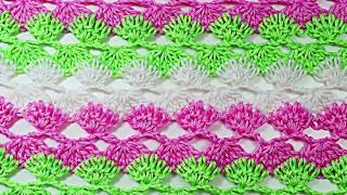 Punto a crochet para blusas y vestidos prendas de primavera verano  muy facil y rapido