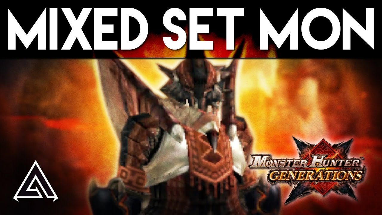 Monster Hunter Generations | Mixed Set Monday: Tropic Hunter Charge