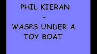 phil kieran - wasps under a toy boat