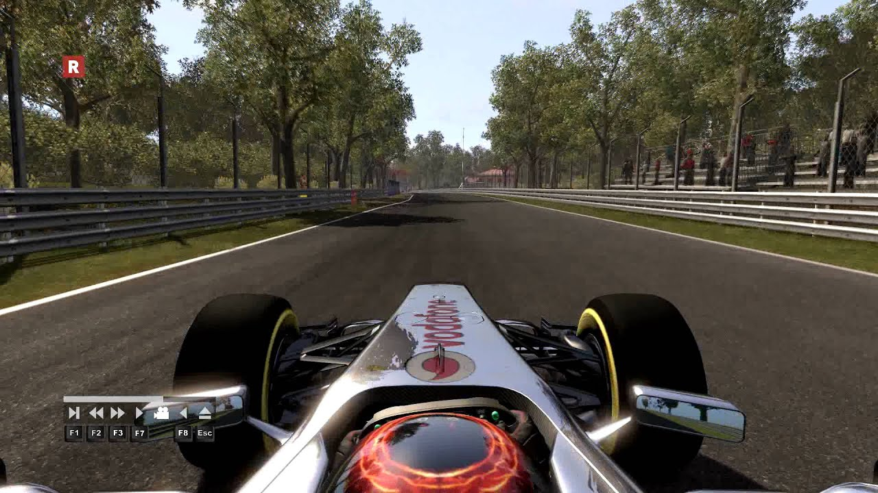 F1 2011 Italy Monza Hot Lap Time Trial McLaren 1.18.205 ...