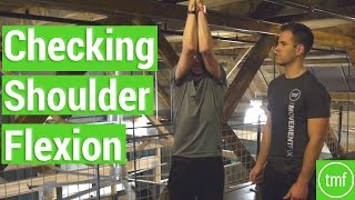 Checking Shoulder Flexion | Week 55 | Movement Fix Monday | Dr. Ryan DeBell