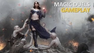 Battle vs. Hard AI - Magic Duels: Origins