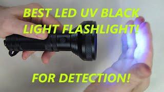LE 68 LEDs UV Flashlight Ultra Violet Blacklight Household Pet Urine Stain Detector