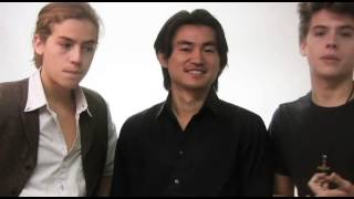 Repeat youtube video International Ambassadors Dylan & Cole Sprouse with Shin Koyamada/ www.koyamada.org
