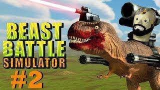 ARMY OF GORILLAS! | Beast Battle Simulator Playthrough - Part 2