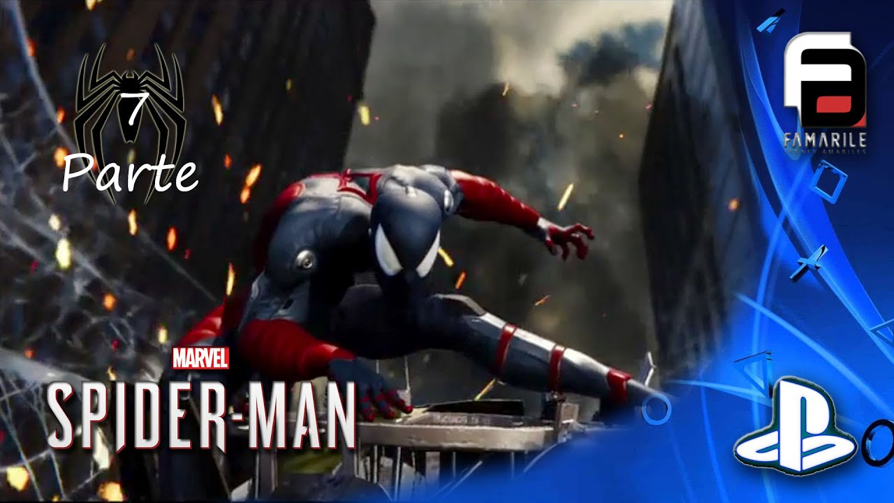 SpiderMan Parte 7 GamePlay No Comentado PS4