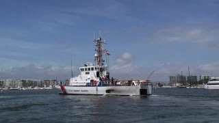 Coast Guard 87-foot Coastal Patrol Boat - Marine Protector Class