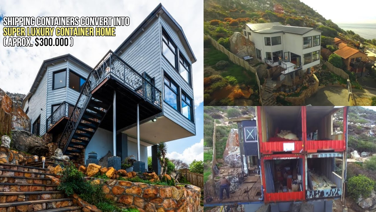 Shipping Containers Convert into Super Luxury Container Home ( Aprox  $300.000 )
