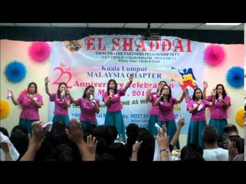 EL Shaddai kl chapter 22nd anniversary part 1