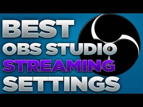 Best OBS Studio Streaming Settings 2017! (NO LAG) [720p 60 FPS/30 FPS] [NVENC & x264]